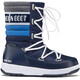 Moon Boot W.E. Quilted WP Kids Navy-Royal-Silver